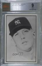 1979 BBBBGTM Baseball Favorites 1953 Bowman Extension Mickey Mantle BVG 9 HOF