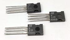 4 Stück / 4 pieces SGSP211 N-CHANNEL MOSFET 100V 0.30 Ohm 7A 50W SOT82