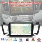 """Fit For Toyota RAV4 2013-17 10.1"""" Android 9.1 Car Stereo FM GPS Navi MP5 Player"""