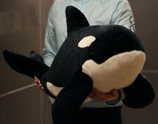 "Giant 29"" Wild Republic Cuddlekins Orca (Killer) Whale Plush Doll Toy Kid Gift"