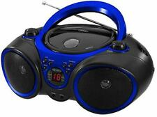 Cd Player Stereo Am/Fm Radio Portable Home Travel Audio Music Sound Aux Line-in