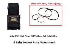 Ardac Bill Validator Belt Rebuilt Kit