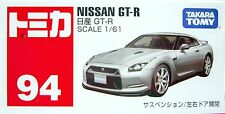 Takara Tomy Tomica Diecast Car 94 BX94 Nissan GT-R Scale 1/61 F0902