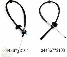 BMW X5 X6 E70 Electric Park Brake cable handbrake 34436772103 34436772104 both