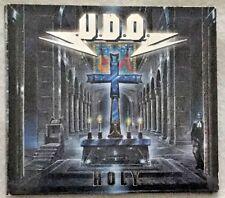 """Autographed U.D.O. (Udo Dirkschneider, Accept) """"Holy"""" CD"""