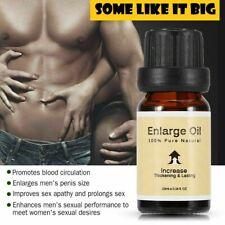Male Penis Extender Vergrößerer erhöhen Herbal Erweiterung Ätherisches Öl Wachstum UK