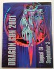 Dragon Con Program Vtg 2001 Collectible Atlanta GA Convention Rare Original HTF