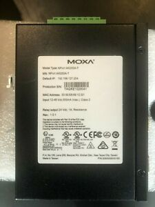 Moxa NPort IA5250A-T _ Industrial Serial to Ethernet Device _ Extended temp.