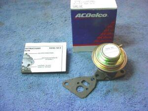EGR Valve AcDelco 214-9046 Checker Marathon 1978 305 CI V8 5.0L  12325232  S3