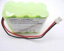 ALARM BATTERY 9.6V COMPATIBLE WITH VISONIC POWERMAX+ PLUS P/N 0-9912-L