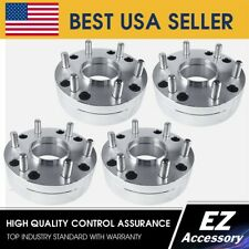 2 Hub Centric Wheel Adapters 5x5 to 6x5.5 | 6 Lug Chevy Rim on 5 Lug Silverado H