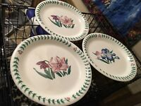 "Lot Of 3 Tabletops Unlimited Botanical Gardens Dinner Plate-10 1/2"""