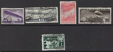 RUSSIA :1931 Airship Construction Fund set   SG 579-83 used