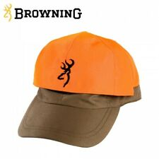 Browning Cap in Green with Blaze Orange reversible top