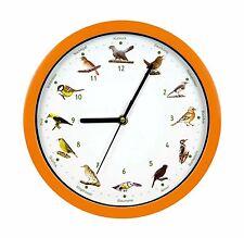 VOGELUHR mit deutschen Vogelstimmen - GRATIS Informationsbroschüre Vogel Uhr