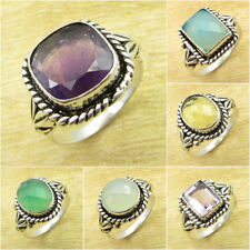 VARIATION TO PICK ! 925 Silver Plated AMETHYST & Other Gemstone To Choose Gift