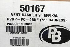 """Peerless Boiler Repair Part 50167 - 9"""" Automatic Vent Damper"""