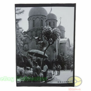 """Matted 8""""x6"""" old photograph Shanghai Orthodox Church in Shanghai,ROC China 1945s"""