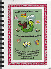 *SHELBY NC 2007 CLEVELAND COUNTY *BOOK WORMS COOK BOOK *PARTNERSHIP FOR CHILDREN