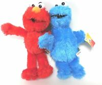 "9"" Sesame Street Plush Elmo and Cookie Monster Ideal Xmas Gift / Stocking Filler"