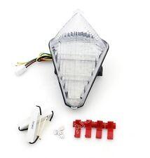 señal vuelta LED Luz trasera Integrado Para Yamaha YZF 1000 R1 2007-2008 Clear
