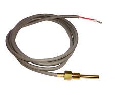 Einschraubfühler M10 PT1000 Temperaturfühler Sensor Fühler Silikonleitung