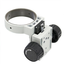 Microscope Arm Two-way Coarse Focusing Adjustment Mount Head Holder Ring 76 mm