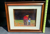 Rare Limited Print titled The Apprentice by Lucien Daigneault fine art Amish