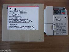OMRON J1000 JZA40P4BAA inverter 0,55KW HD - 0,75KW ND3PH 400VAC 50Hz 1,8A 2,1A