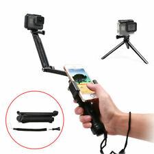 3Way Hand Grip Selfie Stick Tripod Mount Monopod Adjustable Bracket 2 3+ 4 5