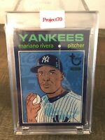 2021 Topps PROJECT 70 Yanks HOF Mariano Rivera ARTWORK By Morning Breath IN HAND