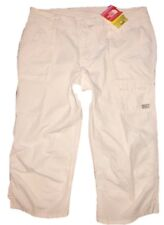 The North Face Hammerland Ripstop White Capri Hiking Pants 10 NEW Cargo Utility