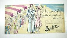 Hertie Magasin Age Bestellkatalog Catalogue Vintage (MF19)