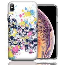 MUNDAZE Apple iPhone XR Design Case - Skull Splash Cover