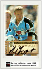 2003 Select NRL XL Future Force Signature Card FF40 Nick Youngquest (Sharks)
