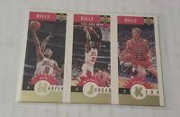 1997 Upper Deck Michael Jordan, Kerr, Harper Gold Foil Trio #B1 Last Dance 🔥