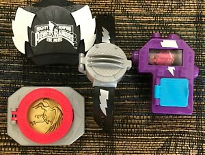 Set of 4 Mighty Morphin Power Rangers The Movie 1995 McDonalds Happy Meal Toys