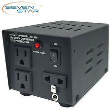 SevenStar TC-300 Watt Step Up/Down Voltage Converter Transformer 120V-220V Volt