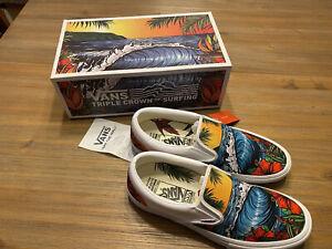 2019 Vans Triple Crown Of Surfing Slip On