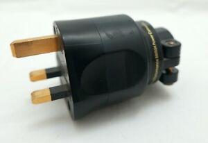 Furutech F1-UK 1363 (G) - Goldplated UK 13 Amp Power Plug - Phonosophie Fuse