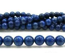 8mm Blue Egyptian Lazuli Lapis Gemstone Loose Bead 15INCH