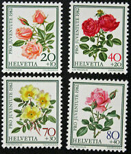 Timbre SUISSE / Stamp SWITZERLAND - Yvert et Tellier n°1166 à 1169 n** (Cyn9)