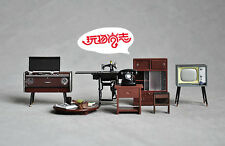 re-ment megahouse accessories 50s furniture table electric appliance  magnet set