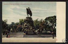 190x WASHINGTON MONUMENT PHILADELPHIA PA UDB POSTCARD