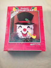 Wonderart Christmas Snowman Kit #K155 Aunt Lydias Nib Free Shipping