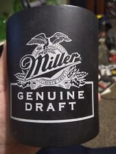Vintage Mgd Miller Genuine Draft Can Koozie Koolie