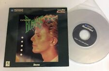 "David Bowie Music Video Laserdisc 1983 ""Let's Dance, China Girl, Modern Love"""