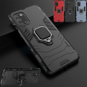 Shockproof Armor Hard Cover Ring Holder Stand Case For Oneplus 7 9 Pro 6T 8T