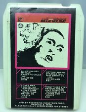 A Rare Live Recording Of Billie Holiday 8 track tape M-2001