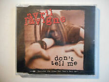 AVRIL LAVIGNE : DON'T TELL ME ♦ CD SINGLE NEUF PORT GRATUIT ♦